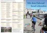 Mit dem Fahrrad Israel erkunden - Go Israel
