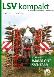 LSV kompakt September 2010 - Die Landwirtschaftliche ...