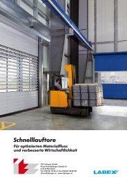 Flexible Schnelllauftore - ITZ Itzlinger GmbH