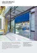 Flexible Schnelllauftore - ITZ Itzlinger GmbH - Seite 4
