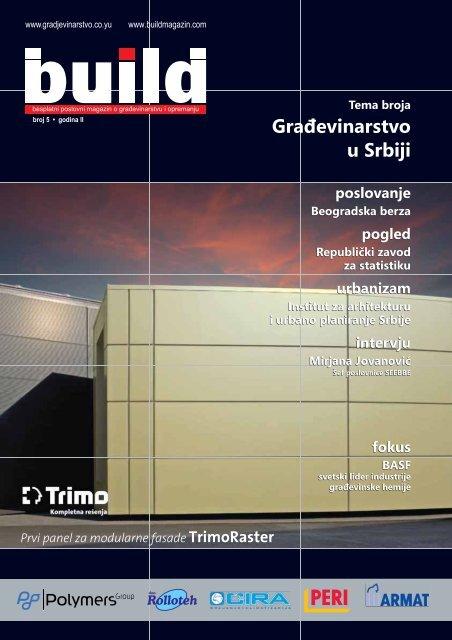 Građevinarstvo u Srbiji - BUILD magazin