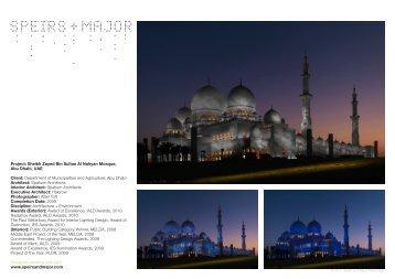 Project: Sheikh Zayed Bin Sultan Al Nahyan ... - Speirs + Major