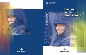 Soldat als Beruf - Bundeswehr