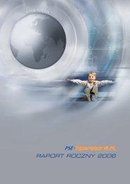 RAPORT ROCZNY 2006 - PSE Operator SA