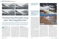 Gletscherforschung Vernagtferner - Kommission für Glaziologie