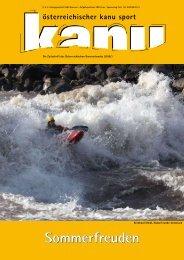 Terminkalender 2009 Flachwasser 54. TID Slalom ... - Kanuverband