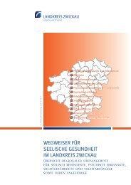 Wegweiser für seelische Gesundheit im Landkreis Zwickau: Übersicht