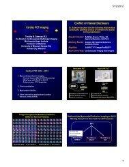 Cardiac PET Imaging