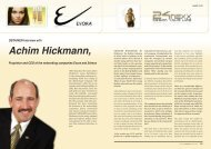 OBTAINER-Interview with Achim Hickmann, Proprietor and CEO of ...