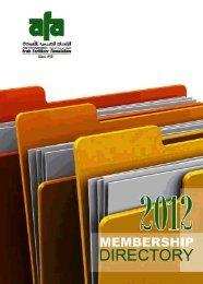 2012 - Arab Fertilizer Association