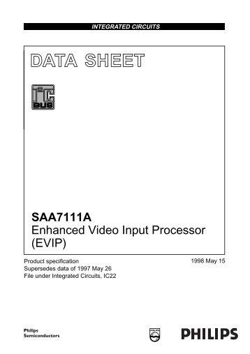 SAA7111A - MJPEG Tools