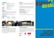 Flyer 300 dpi - KUNST direkt - Congress Centrum Mainz