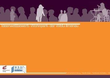 Ideenwettbewerb -Wohnpark- der WBG Ilmenau - im Fachbereich ...