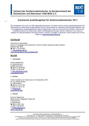 Download (PDF, 872 KB) - Verband der Konferenzdolmetscher im ...