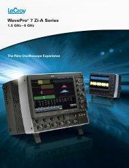 sda ii – advanced tools to isolate and analyze sda ii - LeCroy