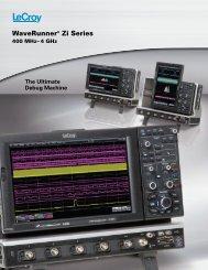 LeCroy WaveRunner 6 Zi Datasheet - Ndn