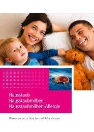 Hausstaub Hausstaubmilben Hausstaubmilben-Allergie - vitatext