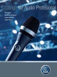 Catálogo de Audio Profesional - AKG