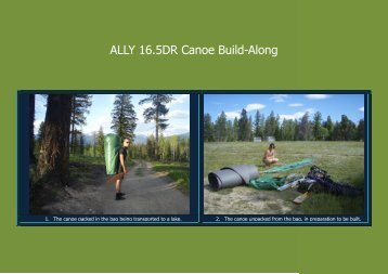 ALLY 16.5DR Canoe Build-Along - Paddle The Waters