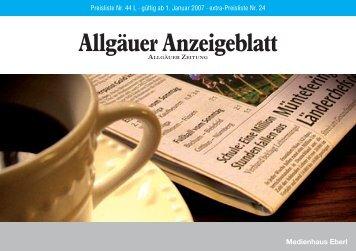 Hotline - Allgäuer Anzeigeblatt