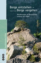 Berge entstehen – Berge vergehen - Ott Verlag