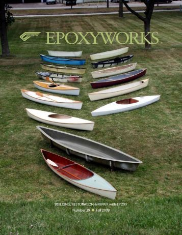 The Gougeon 12.3 Canoe - WEST SYSTEM Epoxy