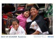 BEST OF ECUADOR Rundreise - Kaufmann Trekking
