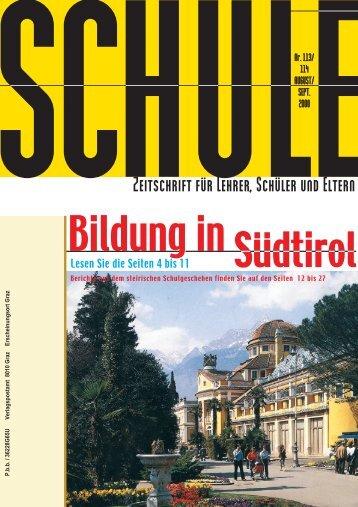 und Mittelschule Unter- stufe - Landesschulrat Steiermark