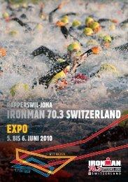 5. BIS 6. JUNI 2010 RAPPERSWIL-JONA - Ironman Switzerland