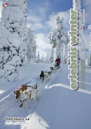 erlebnis winter - FinS-Tours