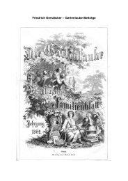 Friedrich Gerstäcker – Gartenlaube-Beiträge