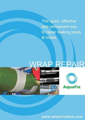 AquaFix Pipe Repair Tape - Akbar Traders LLC