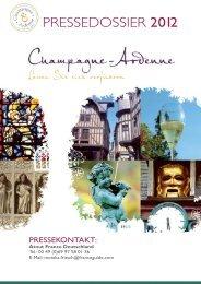 Pressedossier 2012 - Comité régional du tourisme de Champagne ...