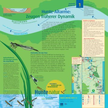 Flüsse - Hunte-Natur