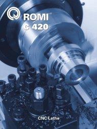CNC Lathe - Romi