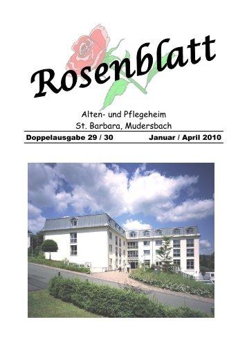 April 2010 - Alten- und Pflegeheim St. Barbara