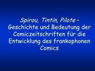 Spirou, Tintin, Pilote – Geschichte und Bedeutung der ...