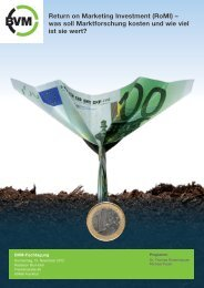 (RoMI) – was soll Marktforschung kosten und wie viel ist sie wert?