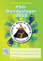 Bundeslager 2012 PSG- Bundeslager 2012