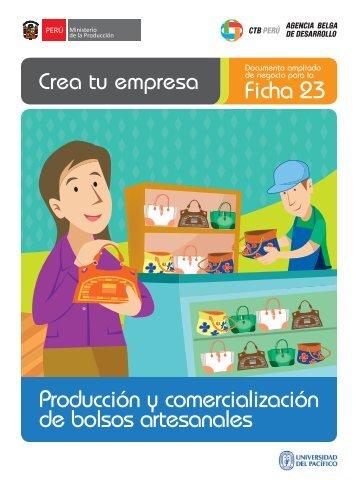 Ficha 23 Producción y comercialización de bolsos ... - CRECEmype
