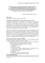 COMENTARIOS AL DECRETO SUPREMO Nº 032-2008-VIVIENDA ...
