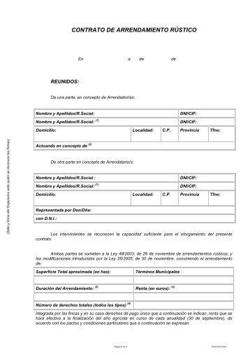 Contrato alquiler con muebles ariza administraciones for Arrendamiento de bienes muebles ejemplos