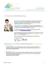 7 Vorteile von E-Mail-Marketing - Interlink Marketing