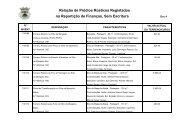 Relação de Prédios Rústicos Registados na - Câmara Municipal de ...