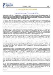 I.- DISPOSICIONES GENERALES - Ministerio de Hacienda y ...