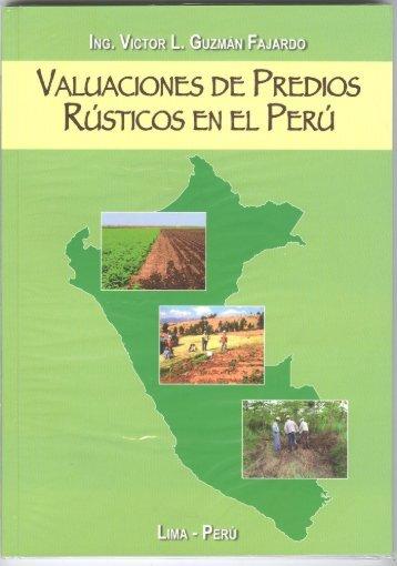 Valuaciones de Predios Rústicos en el Perú