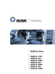 Romi GL Series catalog - Industrias Romi S.A.