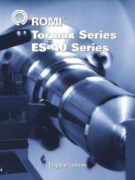 Tormax Series ES-40 Series Tormax Series ES-40 Series - Romi