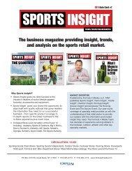 The business magazine providing insight, trends ... - Sports Insight!