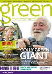 Green Magazine #01 [print].indd - Scottish Power - Cheap Gas and ...